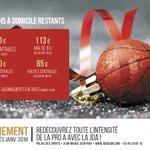 🚨 REJOIGNEZ L'AVENTURE 🚨  10 matchs à partir de mi-janvier, en commençant par la réception de la SIG Strasbourg, c'est l'offre d'abonnement de mi-saison ! 🔥  Plus d'infos : https://t.co/RcAU038KAA  #Dijon #ProA