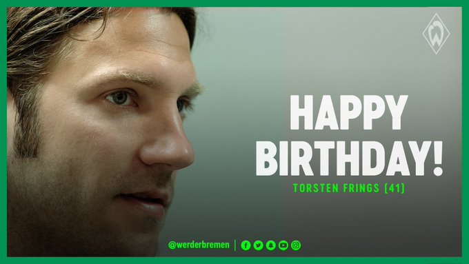 All the very best to you, Torsten Happy Birthday!