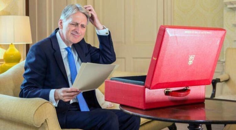 Philip Hammond mulls over his options before #Budget2017 https://t.co/h14kYZ1YTi