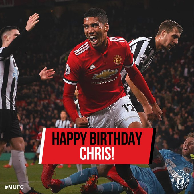 Happy birthday Marouane Fellaini and Chris Smalling