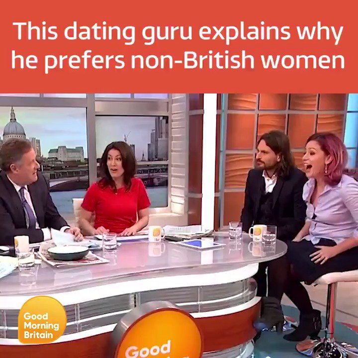 dating guru this morning
