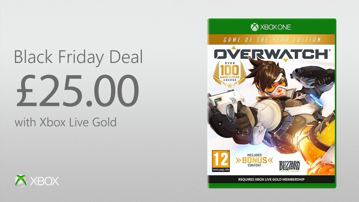 Get 50% off Overwatch GOTY Edition with Xbox Live Gold: https://t.co/vT0L7S4BgM https://t.co/esedA4Q8Ma