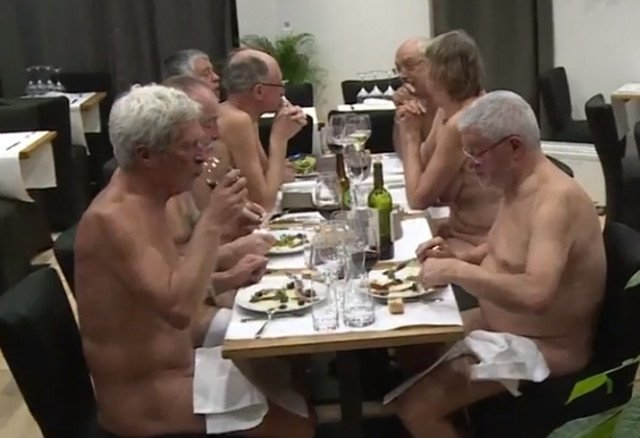 Hots Nude Restaurant Paris Jpg