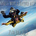 Time to set a Guinness World Record once again 🤘 @GWR **25th July 2018** Call us for more info and to book 01404 890222 😍 Get involved!