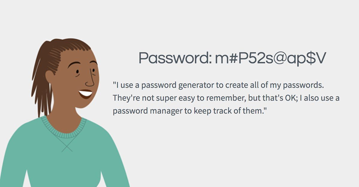 Read this lesson on creating strong #passwords so you can keep your online information secure.  https:// goo.gl/mxWQsj  &nbsp;   #internetsafety #onlinesafety #elearning #technology #CyberAware <br>http://pic.twitter.com/OIgfrQ5oDK