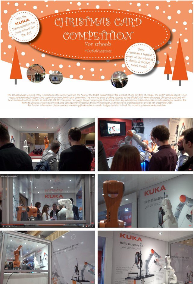 Kuka Uk On Twitter How Would You Like Kuka To Bring Our Robots To