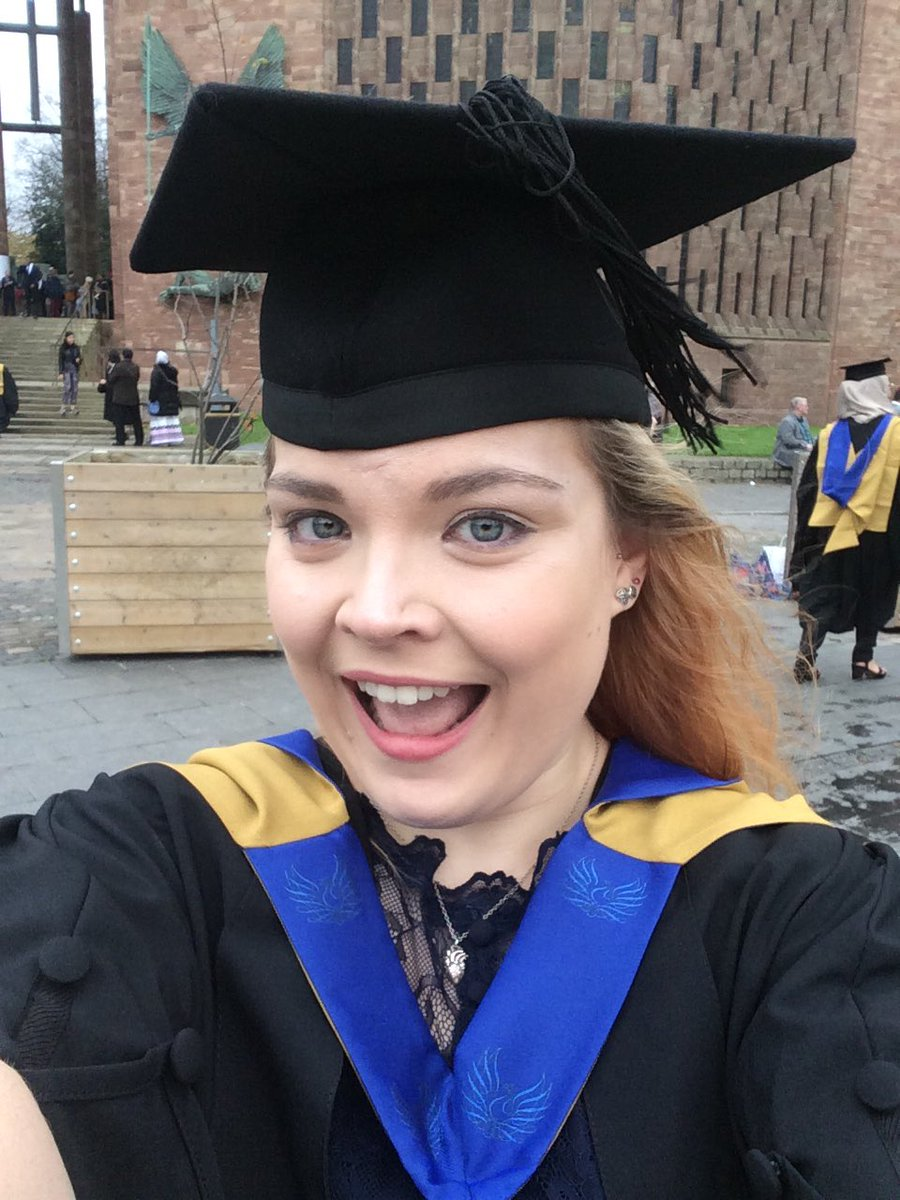 So today I graduated. It&#39;s official!! #CovGraduation #graduand #graduate #midwife #official @covcampus @CU_HLS<br>http://pic.twitter.com/pUeehd3bd5
