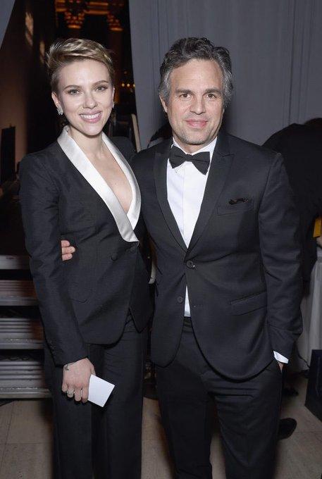 Happy Birthday y Scarlett Johansson! Gracias x tanto !