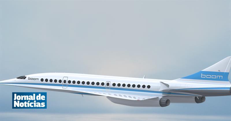 Novo avião supersónico fará Londres/Nova Iorque em três horas https://t.co/Y6l0VrYVXF