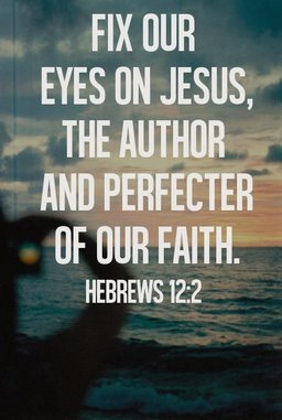 Fix our eyes on Jesus, the author and perfecter of our faith.   #TTN #nonprofit #charity<br>http://pic.twitter.com/lZCFpgLTAw