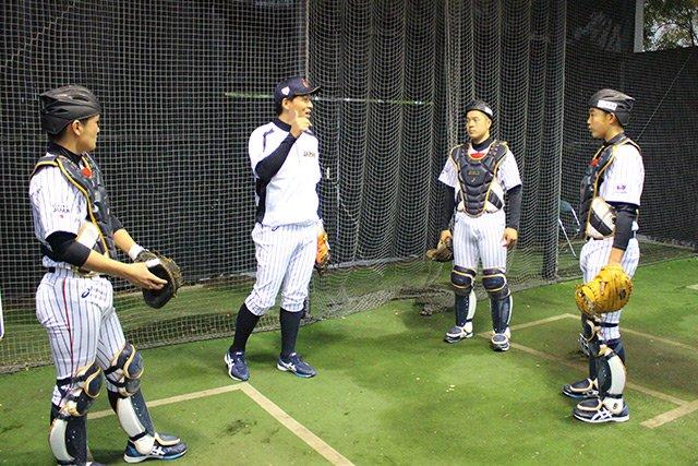 「U-15アジアチャレンジマッチ2017」直前合宿。この日は高橋尚成氏、加藤健氏、古城茂幸氏が臨時コーチとしてチームを指導。栄養講習も行われ、有意義な時間を過ごしました。https://t.co/pNOy8oRSIY #侍ジャパン