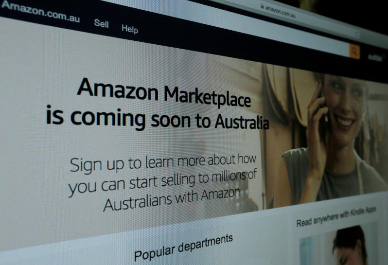 Amazon tells Australian retailers to prepare for orders from Thursday: sources https://t.co/arjaov9Dfe https://t.co/fAywtP0nNT