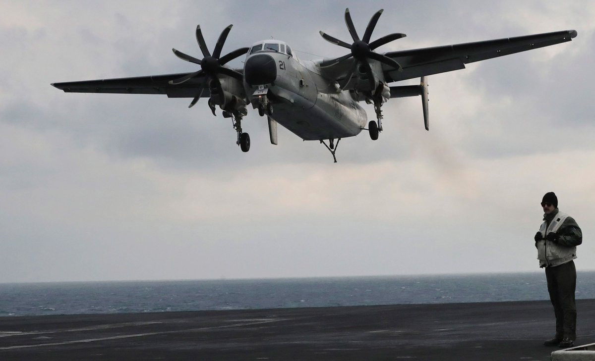 Update: 8 people rescued and 3 remain missing after a U.S. Navy plane crashed into the Pacific Ocean https://t.co/mI3pml0ExK