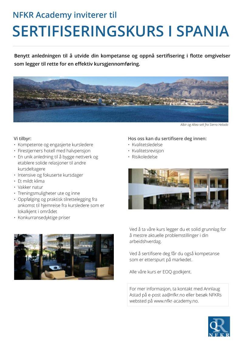 829e6990 #RiskManagement - se omtale #Revisjonsleder kurs i Albir, Spania i  september - nytt kurs april-18 påmelding NFKR.no - Academy  pic.twitter.com/VU0QANMcKO