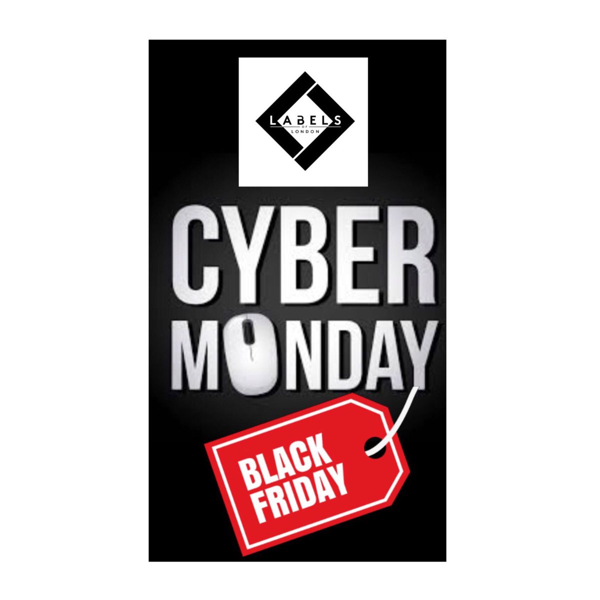 Not long left now until the country goes mad!!  shop till you drop with our amazing discounts for Black Friday/Cyber Monday!! Happy shopping peeps  #labelsoflondonuk #blackfriday #sales #cybermonday #sale #shoptilyoudrop #discounted #discounts #amazingvalue #bargain<br>http://pic.twitter.com/KVSwoVmUAF