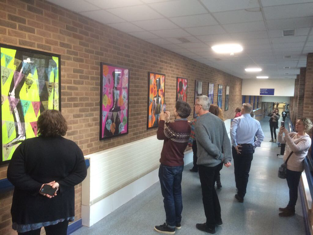Great time @ROHNHSFT #sharing #artwork from #StBrigids &amp; @BournvilleJun &amp; @HE_Education @dameyveb @HeritageMartinP<br>http://pic.twitter.com/WI1jGlC5A4