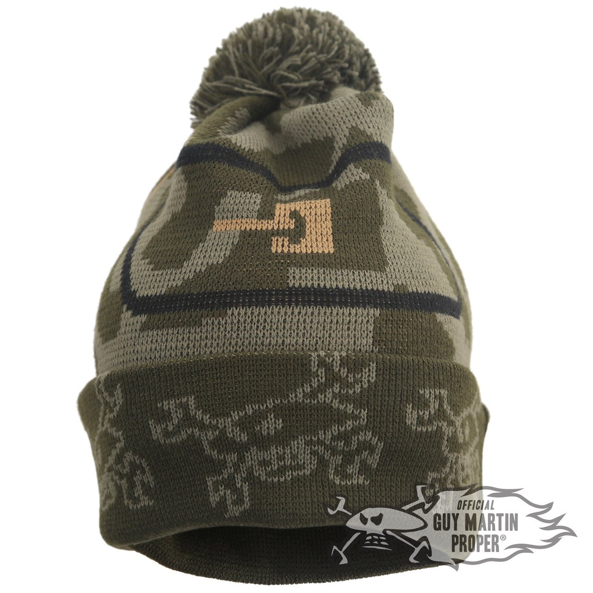 4fd57f9ec5f New Head Gasket Mark IV Bobble hat on sale now at  http   www.guymartinproper.com with £1 from every hat sold going to the  Norfolk Tank Museum.