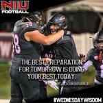 RT @NIU_Football: This weeks #WednesdayWisdom  SMA...