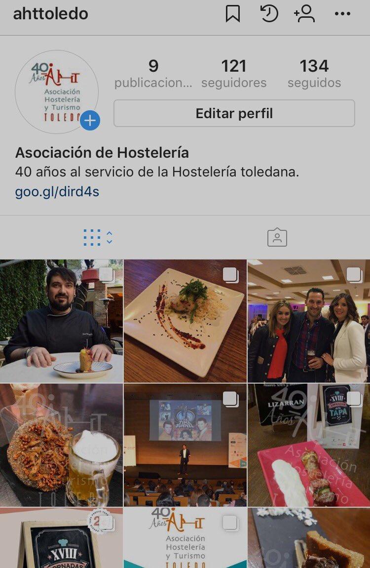 Podéis conocer todas nuestras novedades en nuestra cuenta de Instagram @ahttoledo ¿Nos seguís?