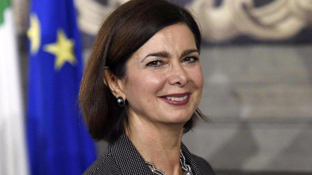 Risultati immagini per Laura Boldrini