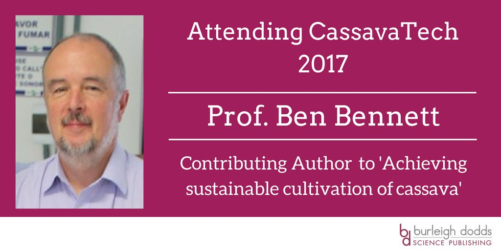 Attending #CassavaTech2017? Find out more about our #cassava titles from contributing #Author Prof. Ben Bennett #publishing <br>http://pic.twitter.com/j68HwgWDEj