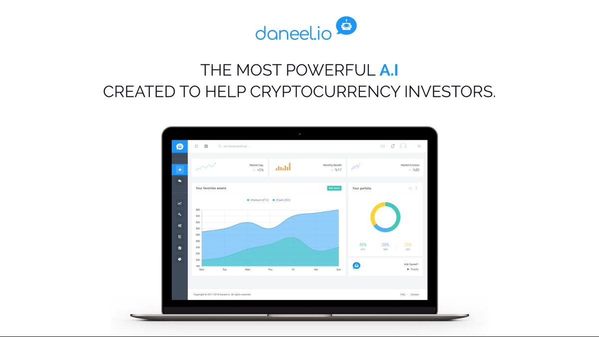 Did you know? Daneel searchs, browses, collects and analyzes different sources in order to only offer you cryptocurrency information that has a high level of reliability. #AI #cryptocurrency #investments #news #ICO <br>http://pic.twitter.com/Ud9xvfuAtU