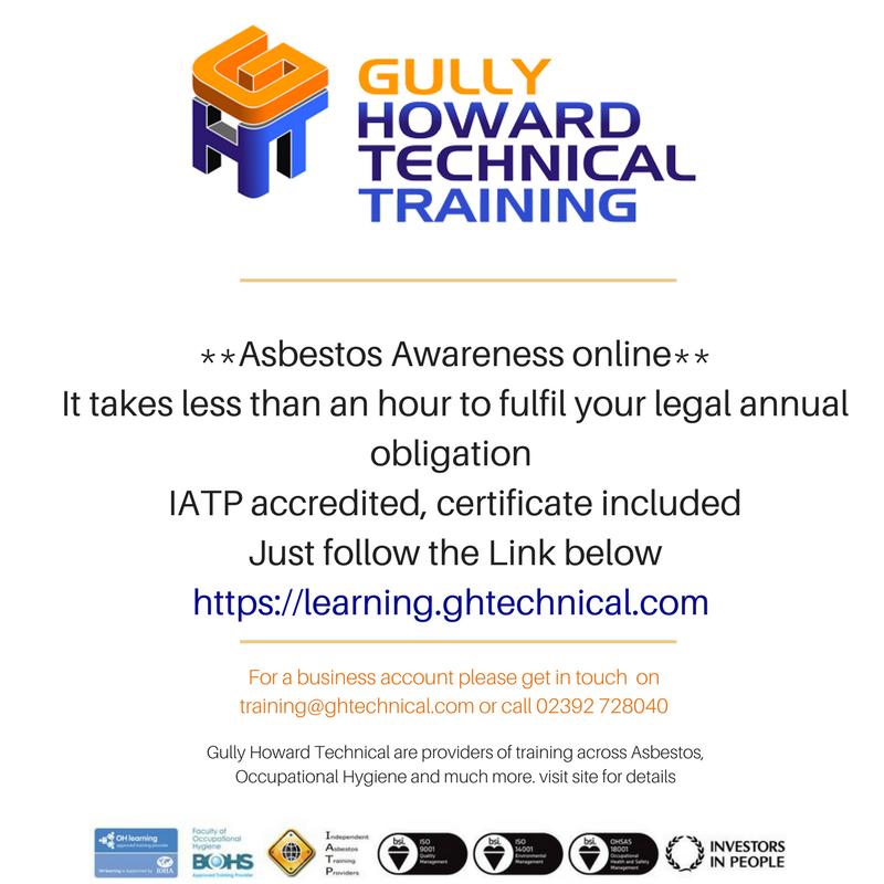 asbestos asbestosawareness onlinetraining training hse bohs iatp httpsbuffly2iflmmz pictwittercomnhnkqzevjz