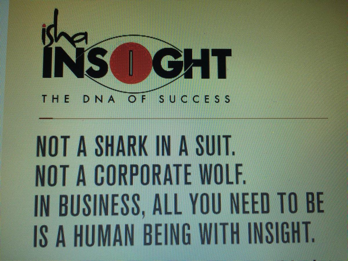 #IshaInsight Look forward to next 4 Days of #Insight with @SadhguruJV<br>http://pic.twitter.com/Bah2zeobiM