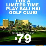 Take advantage of this great deal before the year ends! Call 702-597-2400 to make a reservation! @BaliHaiGC