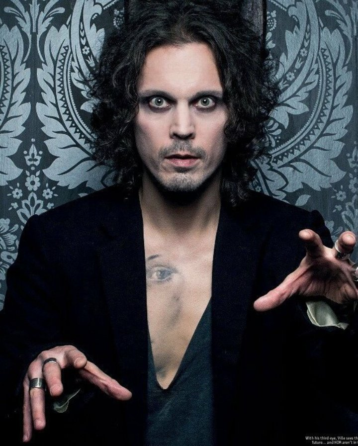 Happy Birthday to my favorite singer and songwriter Ville Valo My inspiration!