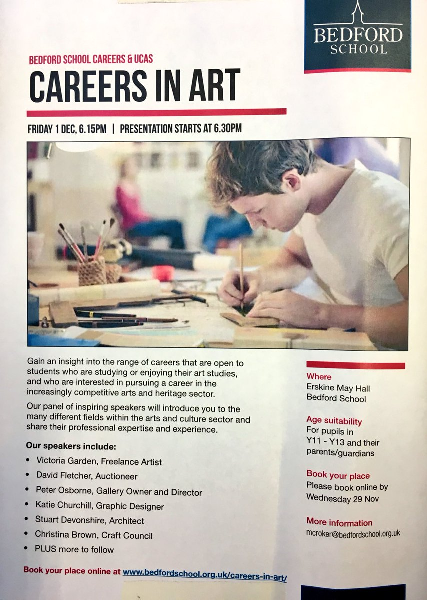 Bedford School Art On Twitter Did You Know 1 In 11 Jobs In