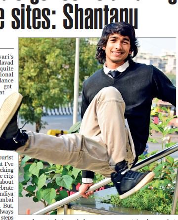 Ahmedabad Times caught up with @shantanum07 during his recent trip to #Ahmedabad. Read the interview in tomorrow&#39;s edition. #WednesdayMotivation <br>http://pic.twitter.com/cRawqaDW1r