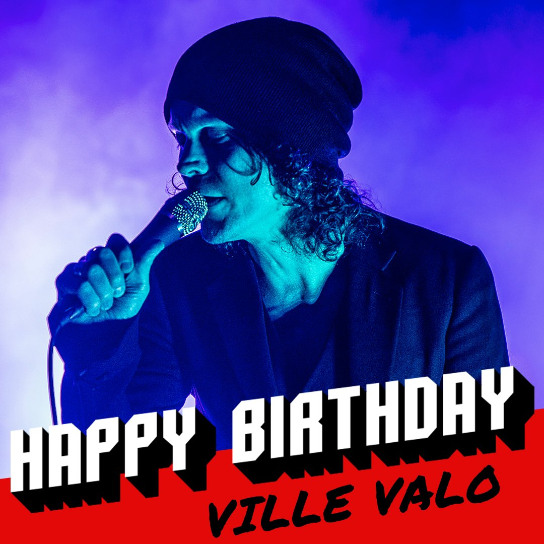 Happy 41st birthday to HIM\s Ville Valo!