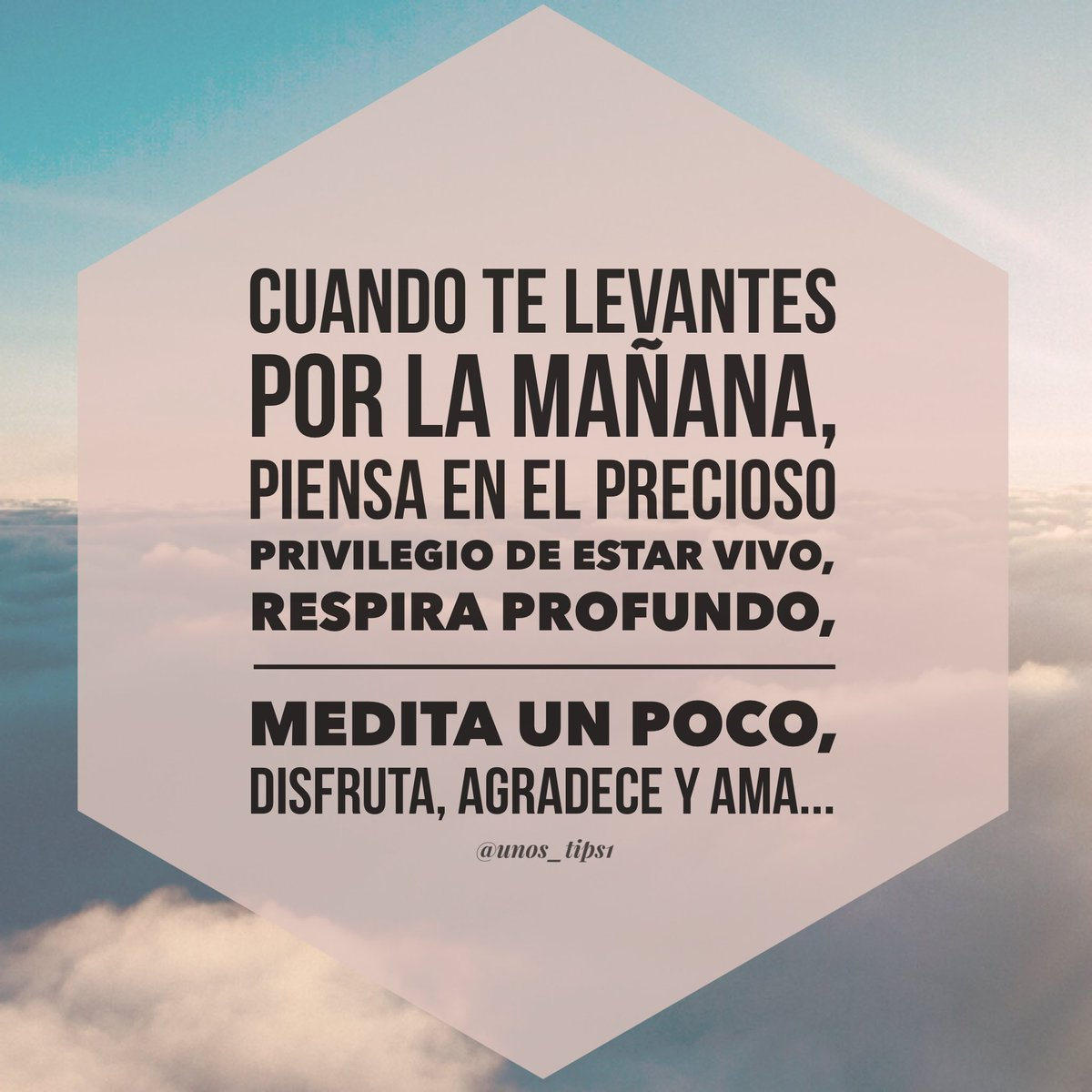 Unos Tips On Twitter Excelente Mañana Para Tod At S Frases