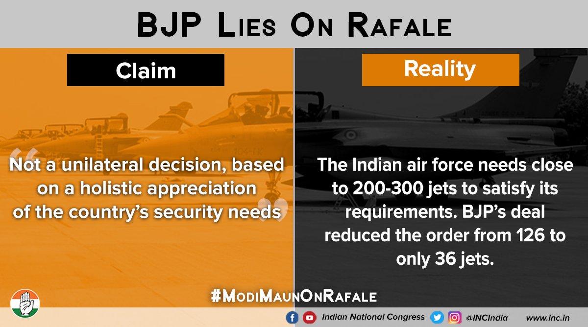 #ModiMaunOnRafale  Who Took the Decision...