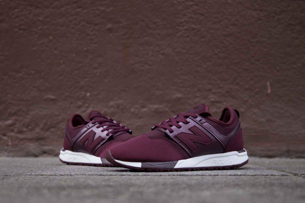 Neue New Balance WRL 247 HK chocolate cherry Schuhe für