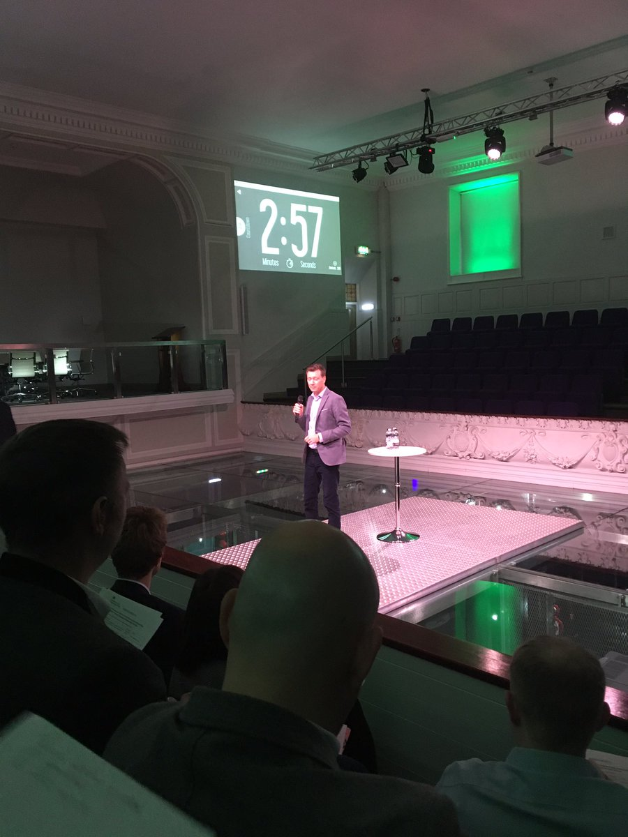#fintech companies from #Nordic and #Baltic countries three-minute-pitching to investors in the heart of the #NorthernPowerhouse in Leeds<br>http://pic.twitter.com/aFFn1DSqdS