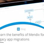 Learn how to use legacy structures & workflows to your advantage when migrating your legacy applications to Mendix: https://t.co/2jumVH4Pxm