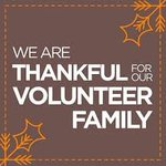 We are so thankful for our wonderful volunteers, who give life to our mission!
