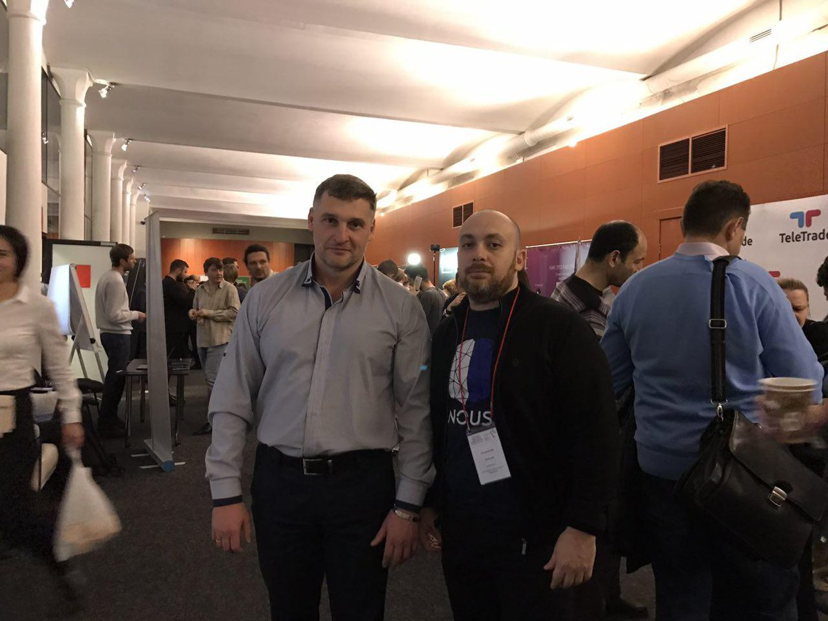 On November, 21 #Nousplatform participated at XVII-th All-Russian conference &quot;New finances&quot; in #Moscow, that was dedicated to the most actual topics in the spheres of modern #finance, #investments, taxation, digital #economy and #cryptocurrency:  http:// mosblockchain.ru / &nbsp;  <br>http://pic.twitter.com/lfarkN8iv5