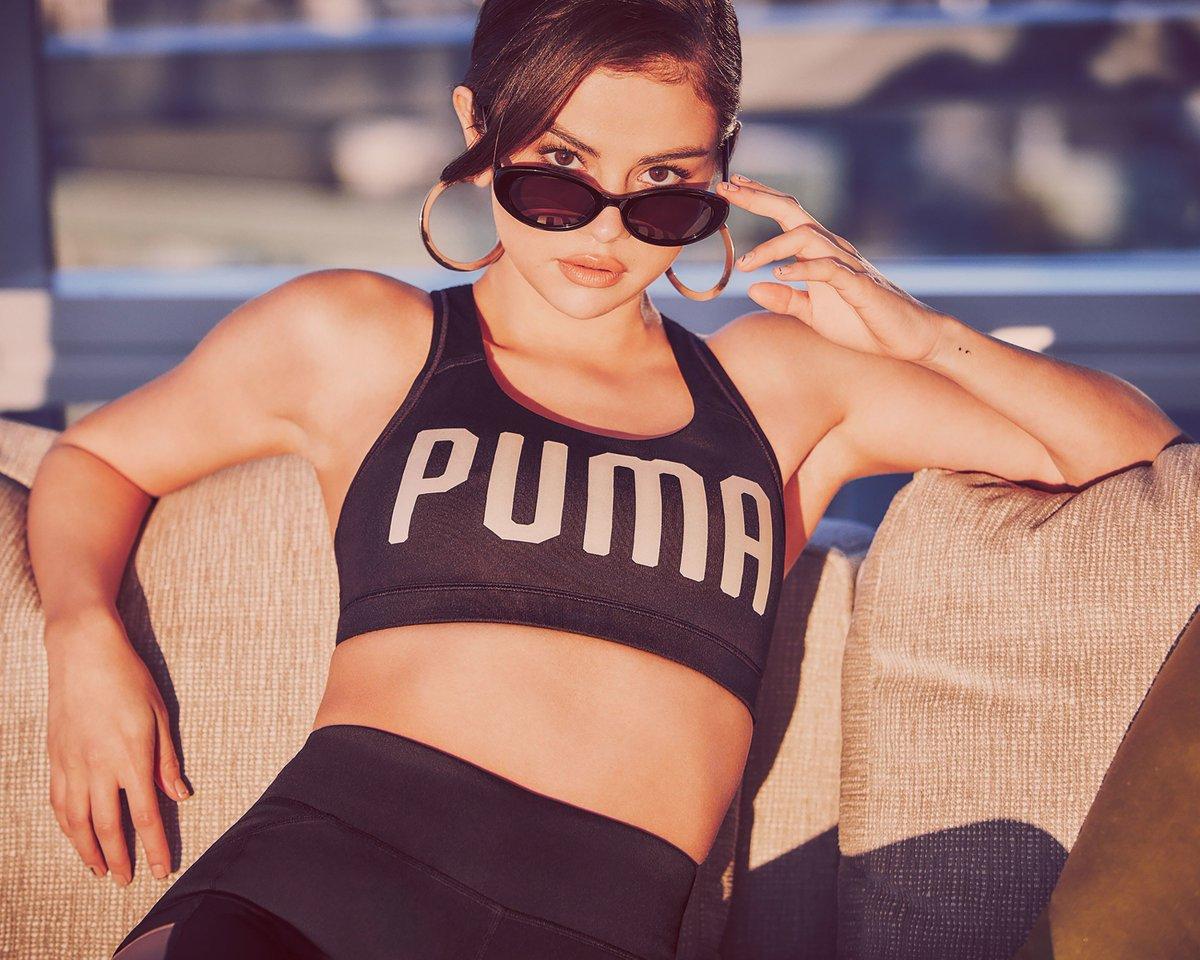 Selena Gomez estrela campanha do Phenom, novo tênis da Puma https://t.co/3scCYtzSpT