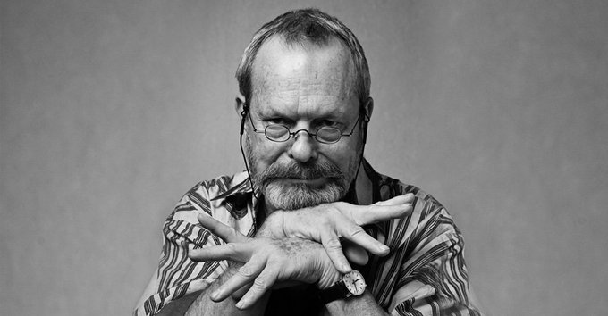 Happy birthday to writer, director, actor and legendary Monty Python figure, Terry Gilliam - who turns 77 today.