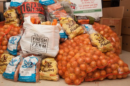 It&#39;s @freshfromfarmON delivery day in Peterborough! Is your school packed with local produce? #localfood #school #fundraiser<br>http://pic.twitter.com/hHNv4Ykr6x