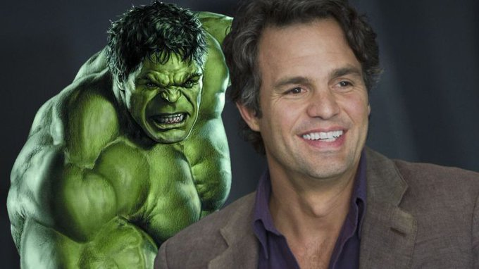 Happy 50th birthday, Mark Ruffalo.  Don\t make him angry. You won\t like him when he gets angry.