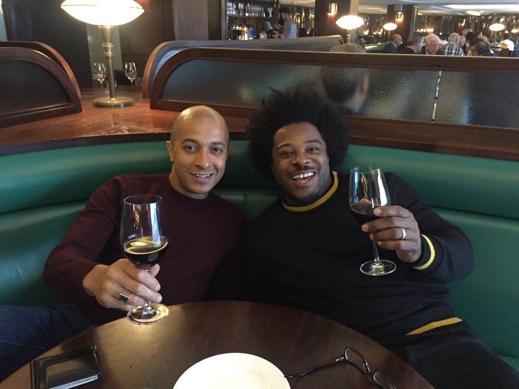 That was nice......... Lunch with the bro @JadeJonesDMG ....... #Hawksmoore #Chateaubriand https://t.co/kzUv1XAEJj