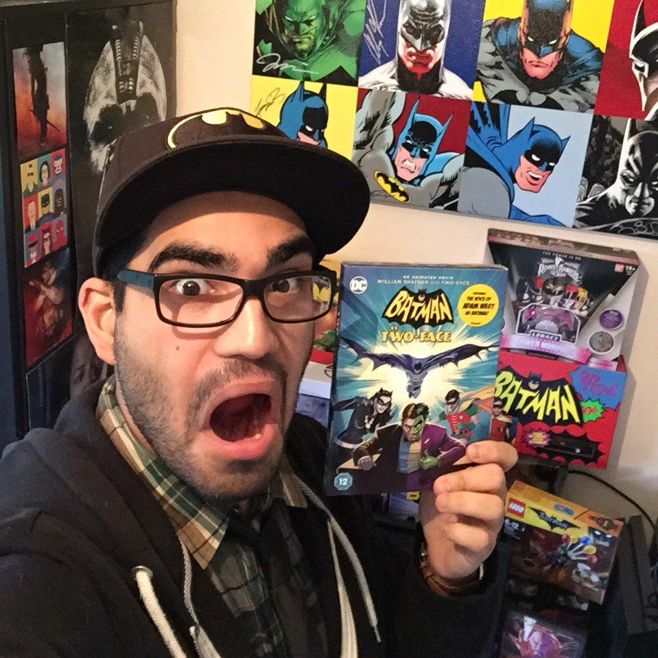 Look what just arrived! #BatmanvsTwoFace...