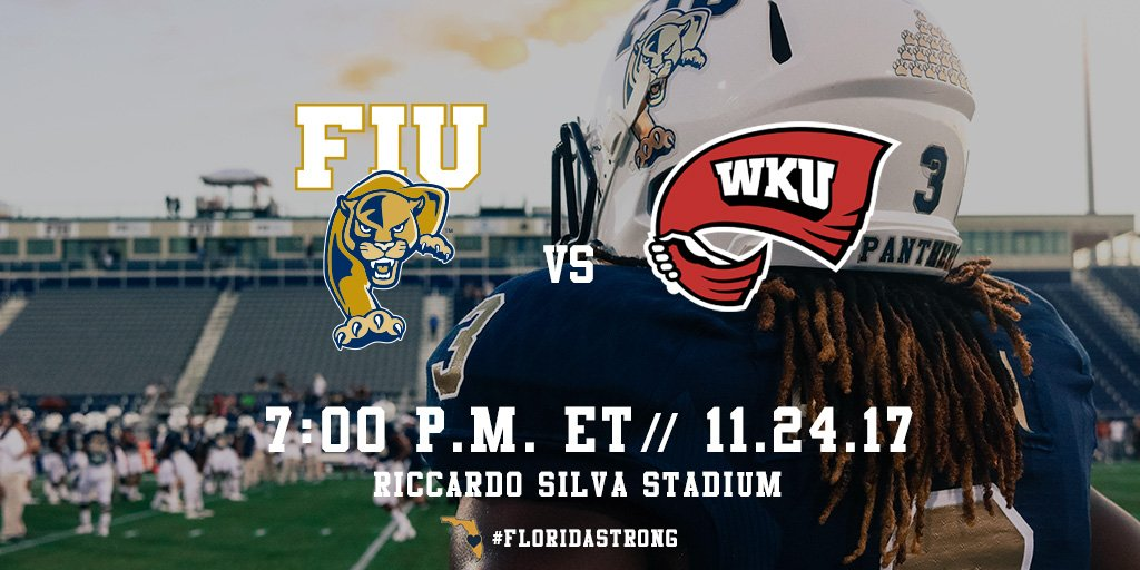 Turkey and football go hand and hand so come out and support your Panthers on Friday night after you munch down some leftovers. #PawsUp #FIUFootball #FIU <br>http://pic.twitter.com/O2q92be5lF
