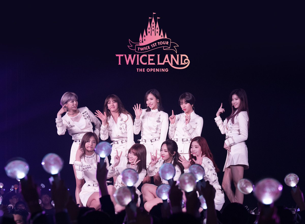 TWICELAND - THE OPENING - DVD & BLUE-RAY   allkpop Forums