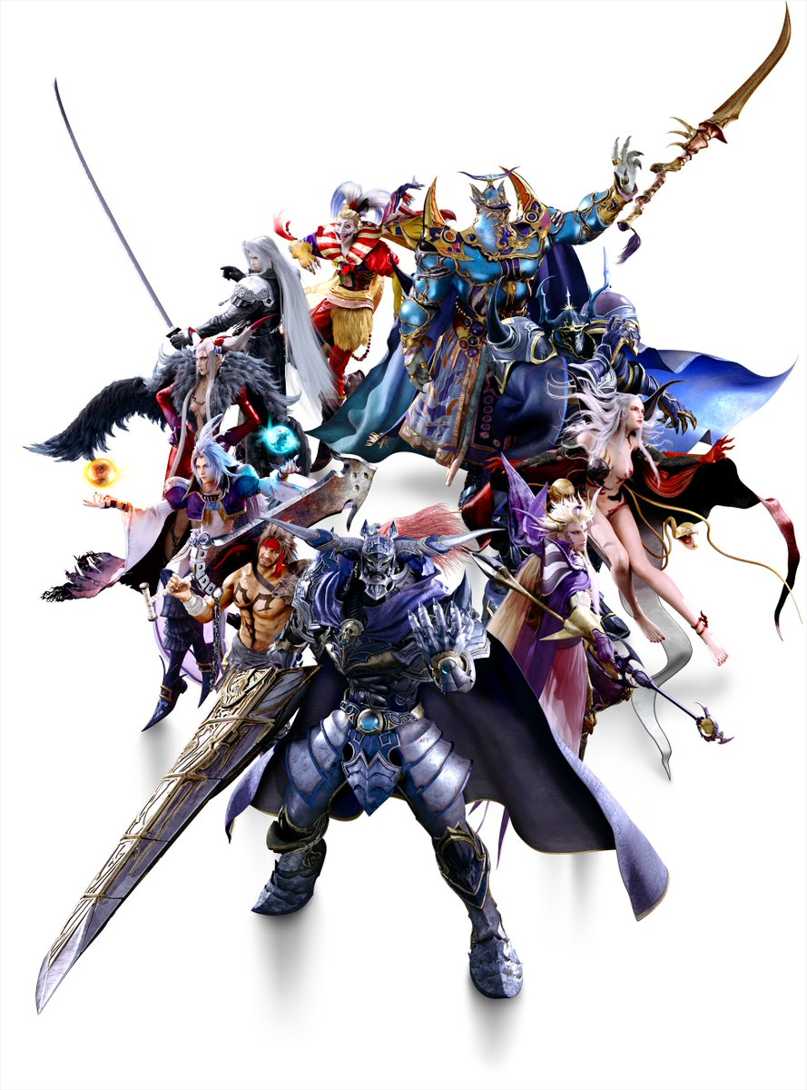 Playstation On Twitter New Wallpaper New Wallpaper Dissidia