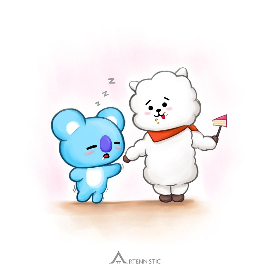 [FA] Koya&#39;s nose works well while asleep too ㅋㅋㅋ and RJ   Only repost with credits.  #BT21 #koya #RJ #btsfanart #bts #namjoon #jin #rm #illustration #drawing @BT21_ @BTS_twt<br>http://pic.twitter.com/zhGbYP4RTV